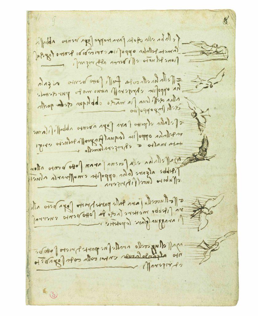 Codice_Volo_Uccelli_ Leonardo